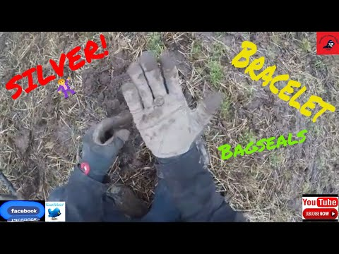 Metal detecting in Dundee finding SILVER!