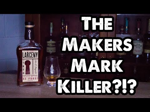 Larceny Wheated Bourbon Whiskey Review! Breaking the Seal Ep #19!