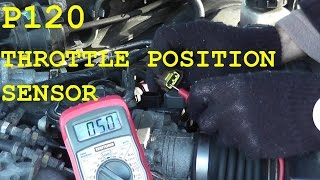 How To Test and Replace the Throttle Position Sensor (TPS) P0120