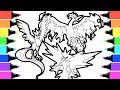 Pokemon Legendary birds coloring book pages I Fun Colouring videos for kids