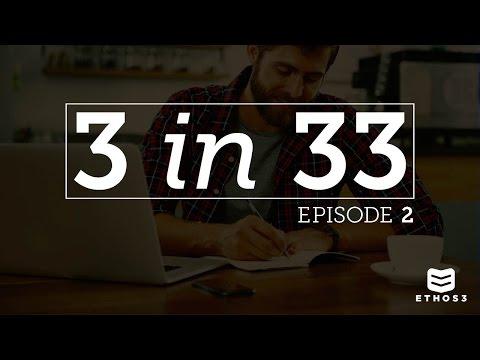 Scott Schwertly of Ethos3 - 3 in 33 - Episode 2 - Presentation Storytelling Styles