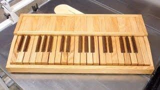 Wood Keyboard - Building It