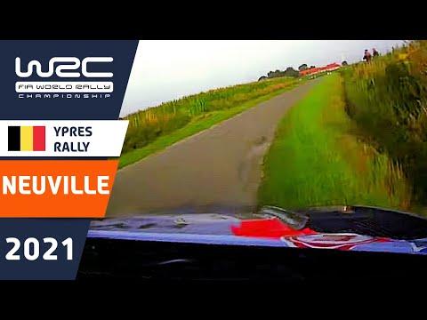 ヌービルのファステストオンボード映像 WRC 2021 第8戦 ラリー・ベルギー