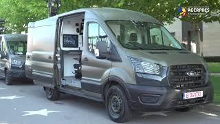 Ford livrează 50 de maşini Ford Transit special echipate pentru Poliţia de Frontieră