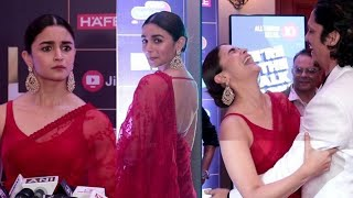 Alia Bhatt With Moeen Bhai | News 18 Reel Movie Awards 2019