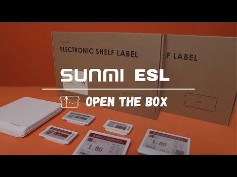 Sunmi ESL - Electronic Shelf Label Solution video thumbnail