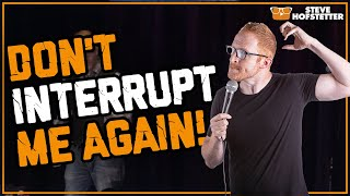 Two hecklers at one show - Steve Hofstetter - Video Youtube