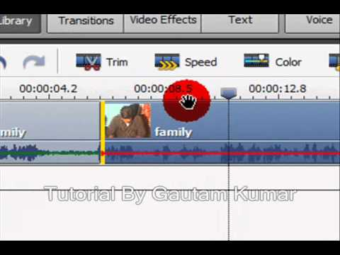 Learn How To Edit, Trim ,Cut Videos In AVS Video Editor ( In Hindi)