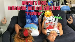 Look no further the best inflatable pull out sofa bed *review*