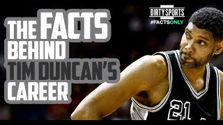 FACTS ONLY: TIM DUNCAN IS A TOP 10 ALL-TIME PLAYER