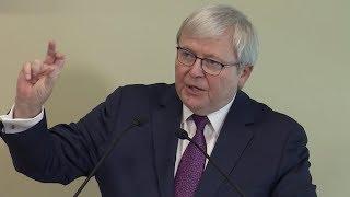 Kevin Rudd on the U.S.-China Trade War