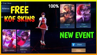WIN FREE KOF SKINS BY MATCHING CARD FLIP IN THIS NEW EVENT | MOBILE LEGENDS 2020