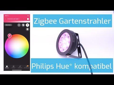 Zigbee RGB + CCT Gartenstrahler - Philips Hue* kompatibel