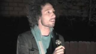 Zack De La Rocha speaking against Sherif Joe Arpaio and sings people of the sun