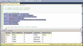 Simple Recursion in SQL