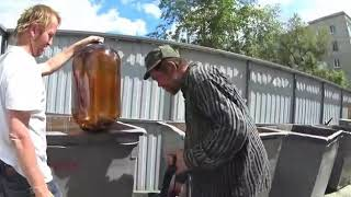Алкаши Ставрополя попили пивка!!!!