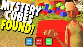 WE FOUND ALL OF ANGRY NEIGHBOR'S SECRET MYSTERY CUBES!   Angry Neighbor Gameplay
