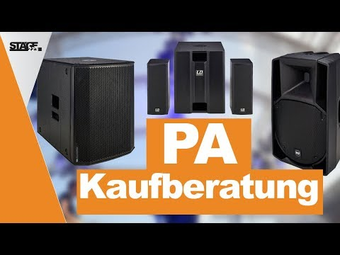 PA Kaufberatung 2019 - Welches PA System passt zu mir? | stage.choice
