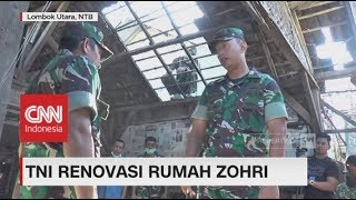 Gerak Cepat! TNI Renovasi Rumah Lalu Zohri