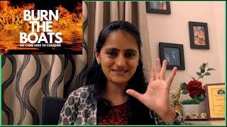 Struggles make you stronger| Take challenges| Burn your boats|  Motivation | Dr .Nikita | M3withN3