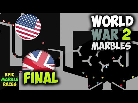 World War Marbles 2 Final Marble Race