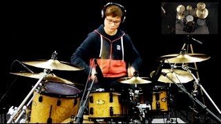 Sunrise Avenue - Hollywood Hills, drum cover by marco hubacher HD