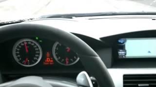 Разгон BMW M5 v10 до 350 км-час