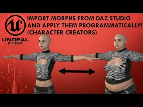 Exporting to Unreal Engine - Daz 3D Forums