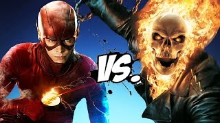 GHOST RIDER VS THE FLASH   EPIC BATTLE