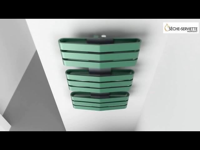sèche-serviette Iron D et Iron S