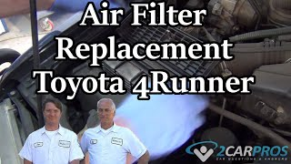 Air Filter Toyota 4Runner 3.4L V6 1996-2002