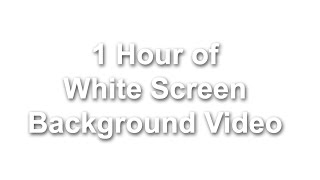 White Background 100%   White Screen video   whiter wallpaper Background   White Background video HD
