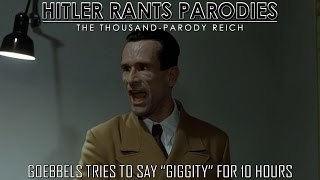"""Goebbels Tries To Say""""Giggity"""" For 10 Hours"""