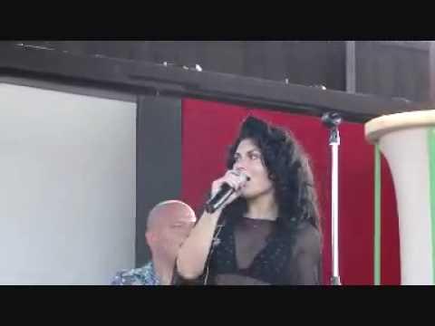 Giusy Ferreri live al Tanka Village, Radio Italia - 22/07/2010 - Come pensi possa amarti