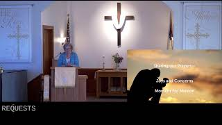 Worship in Church – 4/18/2021