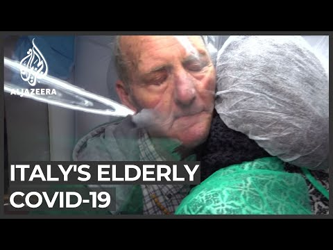 COVID-19 crisis: Italians find new way to reconnect elderly with families