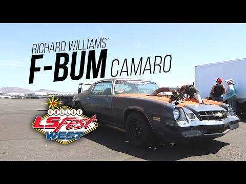 The F Bum Camaro at LS Fest West 2019!