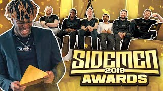 SIDEMEN YOUTUBE AWARDS 2019