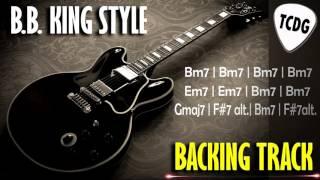Base De Blues Estilo B.B.King Para Improvisar En Guitarra | Si Menor TCDG