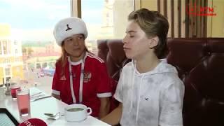 Иностранцы и Русская кухня