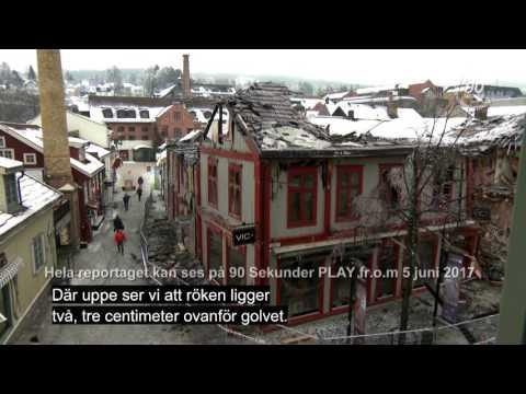 Brannen i Storgata i Lillehammer