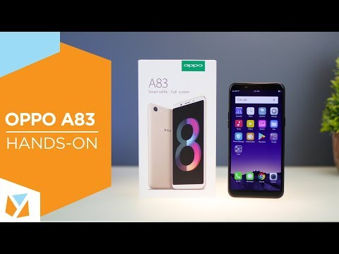 OPPO A83 Unboxing and Hands On