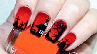 Halloween Nail Art Tutorial | DIY Halloween Nails