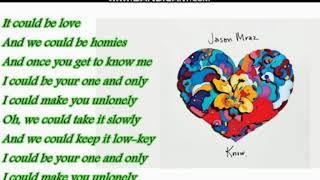 Jason Mraz   Unlonely (Lyrics)