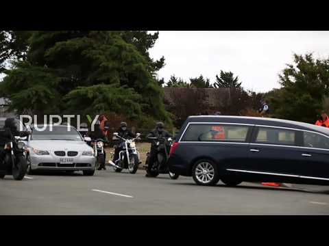 New Zealand: Eight more Christchurch shooting victims laid to rest