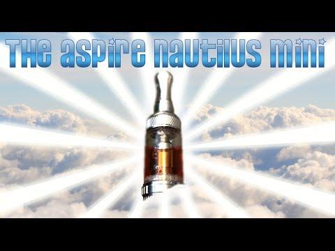 Танкомайзер Aspire Nautilus Mini с комплектом сменных испарителей - видео 1