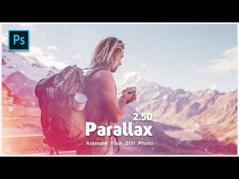 2.5D Parallax Animation Effects In Adobe Photoshop Cc | Animate Your Still Photo