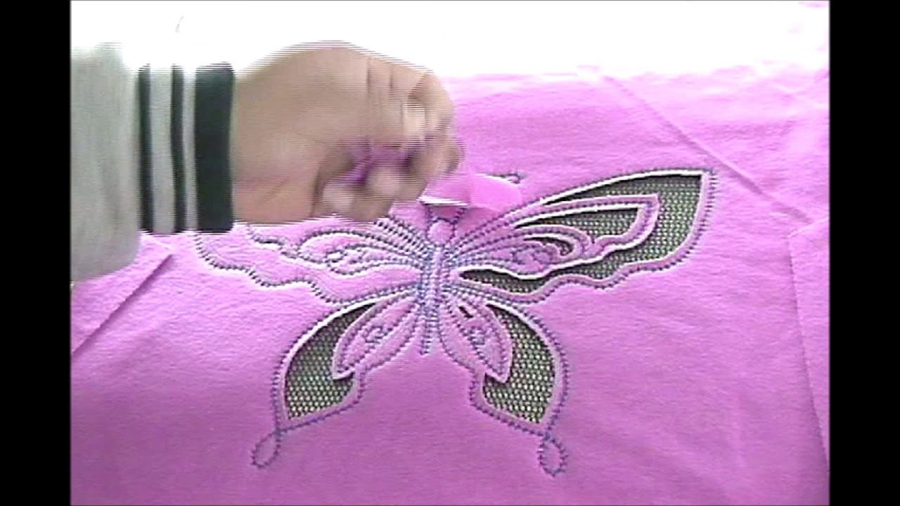 Proel LaserBridge Producing Butterfly Mesh Pattern