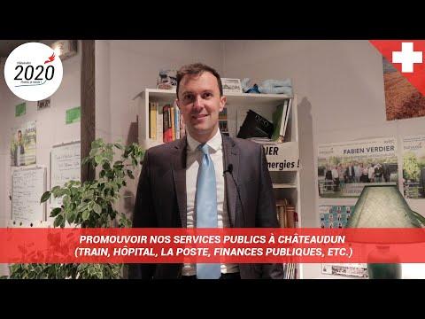 Promouvoir nos services publics à Châteaudun (TER, Hôpital Public, La Poste, etc.)