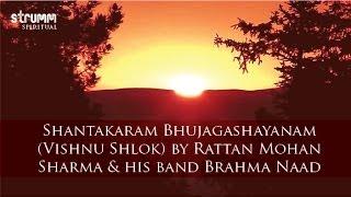 Shantakaram Bhujagashayanam Vishnu Shlok by Rattan Mohan Sharma